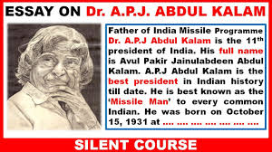 essay on apj abdul kalam in english best essay  essay on apj abdul kalam in english best essay
