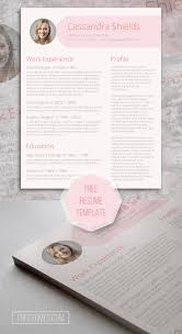 75 Best Free Resume Templates For Word Images On Pinterest Blush