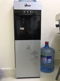 Cây Nước Nóng Lạnh Fujie WD1500E - Bạc Đen - Hàng chính hãng