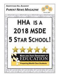 January 2019 Hha Parent News Magazine Pages 1 36 Text