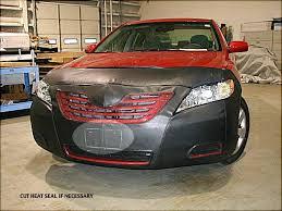Amazon.com: Lebra 2 piece Front End Cover Black - Car Mask Bra ...