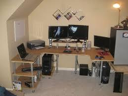diy u shaped desk.  Desk DIY U Shaped Desk With Diy Pinterest