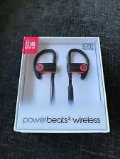 goodmans wireless headphones. beats by dr. dre powerbeats3 wireless ear-hook headphones - siren red goodmans