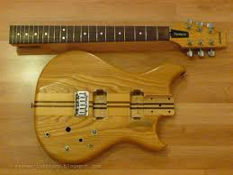 steve s luthiery blog project 3 westone thunder i a there was a neck through version of it in the westone range apparently but this one is actually a bolt on neck