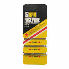 hpm fuse wire cards electrical fittings & parts mitre 10™ fuse wire size at Fuse Wire
