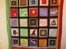 Hand Crafted Harry Potter Quilt by Mimi's Quilts | CustomMade.com & Custom Made Harry Potter Quilt Adamdwight.com
