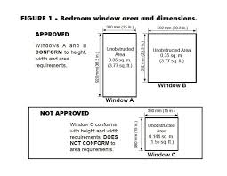 egress window egress window size