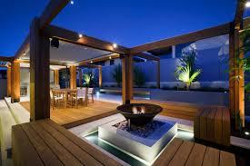 rooftop lighting. Image: Outdoor Lights Rooftop Lighting O
