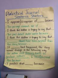essay dialectic essay