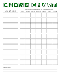 Chore Chart Samples Cool Daily Chore Chart Example To Do Template Html Craftstudios Co