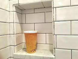 ceramic shower niche tile tiled images designs