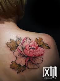 не знаете где сделать татуировку выберите спину студия Tattoo Xiii