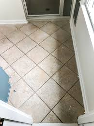 how to install sheet vinyl flooring over old tile