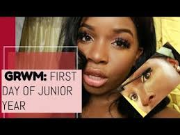 grwm first day of junior year how i do my makeup for kashmir kreates