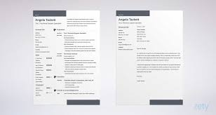Word Resume Template Interesting Resume Templates For Word FREE 48 Examples For Download