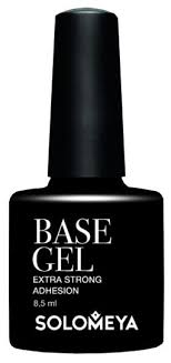 <b>Solomeya</b> базовое покрытие <b>Base Gel</b> SBG 8.5 мл — купить по ...