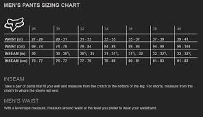 Fox Gear Size Chart Fox 180 Rodke Se Motocross Pants Jersey Combo Set Black Red