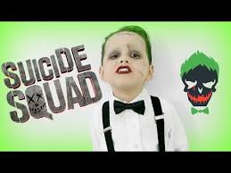 joker squad makeup and costume