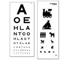 Eye Test Chart Double Sided 3m Medical Products