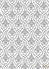 Small Picture Stunning Islamic Art Coloring Pages Ideas New Printable Coloring