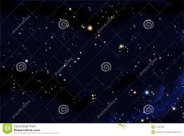 Night Sky Id Charts South Sky Star Chart Stock Illustration Illustration Of