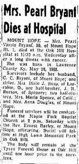Pearl Bryant oct 15 1953 - Newspapers.com