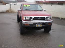 1996 Sunfire Red Pearl Toyota Tacoma SR5 Extended Cab 4x4 ...