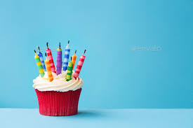 birthday cupcake with candle. Delighful Candle Birthday Cupcake With Candles Blown Out Stock Photo By RuthBlack  PhotoDune Intended Cupcake With Candle E