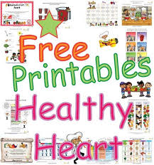 Small Picture Healthy Heart Activities Coloring Sheets Puzzles and Learning