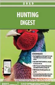 2019 Michigan Hunting Digest