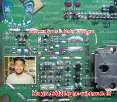 Nokia 108 Light Solution Without Transistor Nokia 1202 Light Without Ic Display Keypad Led Jumper Tested