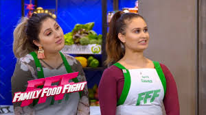 Samadi sisters take out the first challenge | Family Food Fight 2018 -  YouTube