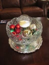 Punch Bowl Decorations Punch bowl Decorating Ideas I like the addition of a glass 2