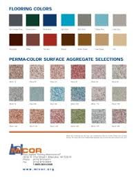 Tnemec Color Chart General Information Micor Company Inc