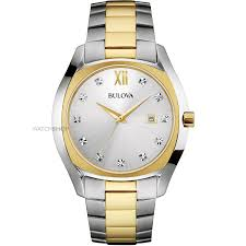 "diamond watches watch shop comâ""¢ mens bulova diamond watch 98d125"