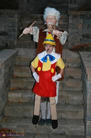 Small Picture Pinocchio and Gepetto Illusion Halloween Costume Photo 24