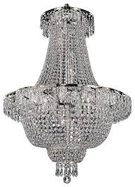 french empire crystal chandelier chandeliers lighting silver h30 x wd24 9 lights free