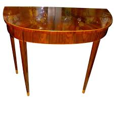 art deco demilune console entry table art deco style furniture occasional coffee