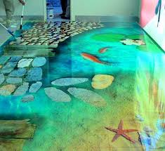 painting a cement floorPainted Concrete Floors Ideas  Carpet Vidalondon