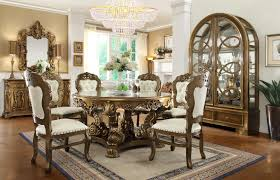classic dining room chairs. HD 8008 Homey Design Dining Room Set Victorian, European \u0026 Classic Chairs T
