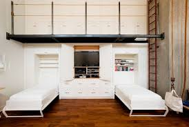Murphy Bed Units Throughout Architecture Savy Custom Wall Unit With  Integrated Twin Designs 4