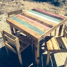diy pallet outdoor dinning table. pallet dining furniture set diy outdoor dinning table