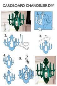 diy wedding paper chandelier inspirational how tuesday cardboard chandelier