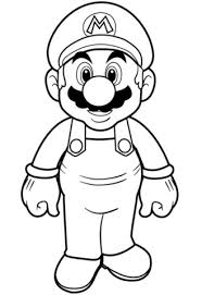 Small Picture Super Mario coloring page Free Printable Coloring Pages