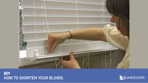 how to shorten blinds wood and fauxwood raquo diy