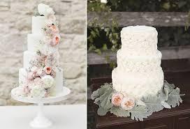 Kue Pengantin Putih Dan Warna Warni Bunga Weddingkucom
