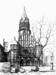 architectural buildings sketches.  Buildings 09StAnnaChurchukaszGaDOMINPoznanArchitecturalDrawings OfHistoricBuildingswwwdesignstackco And Architectural Buildings Sketches