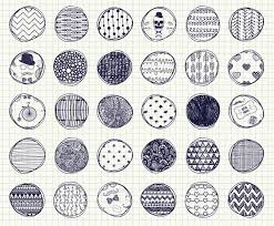 Patterns To Draw Beauteous 48 Pen Drawing Seamless Patterns Graphic Patterns Creative Market