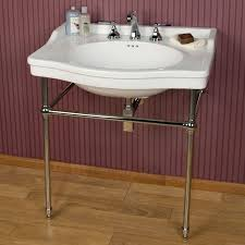 24 inch console sink metal console sink stands console sink
