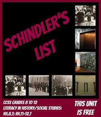 holocaust ww ii schindler s list ccss questions vocabulary prezi